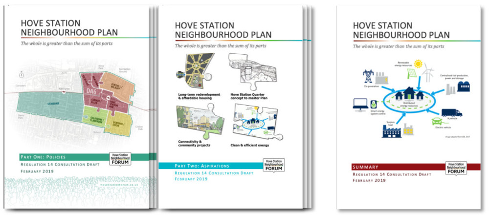 Neighbourhood Plan Regulation 14 covers