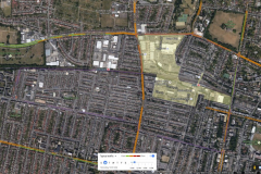 Aerial Map- Traffic and Air Quality