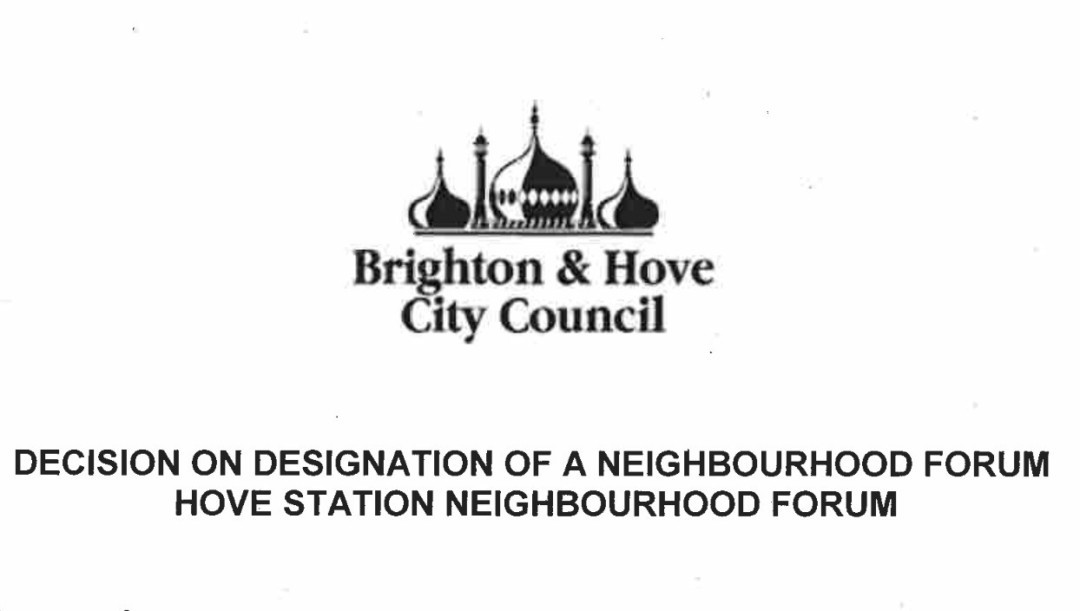 HSNF designated as a body qualified to prepare a Neighbourhood Plan
