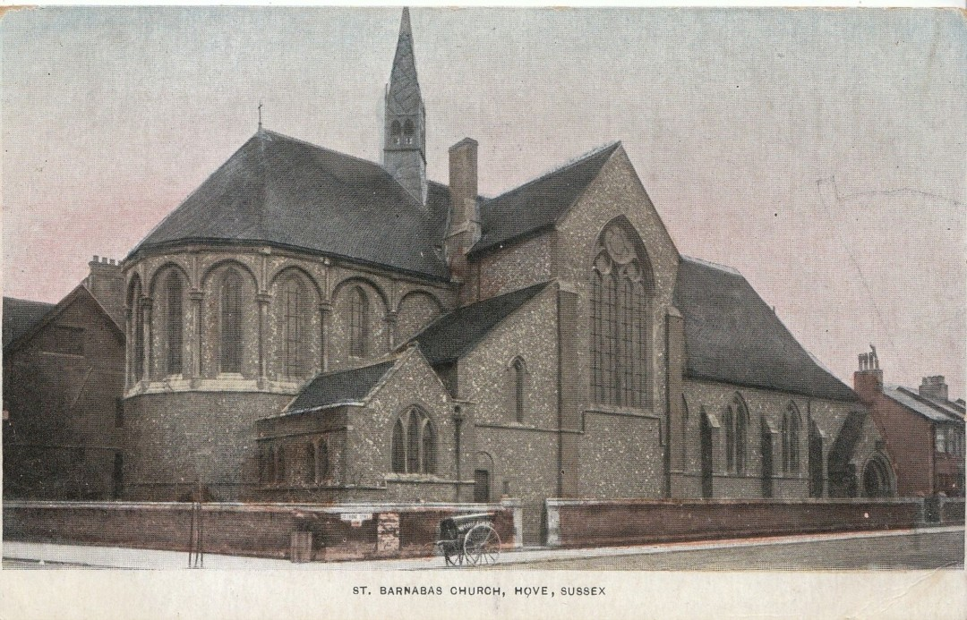st barnabas church hove archive photo