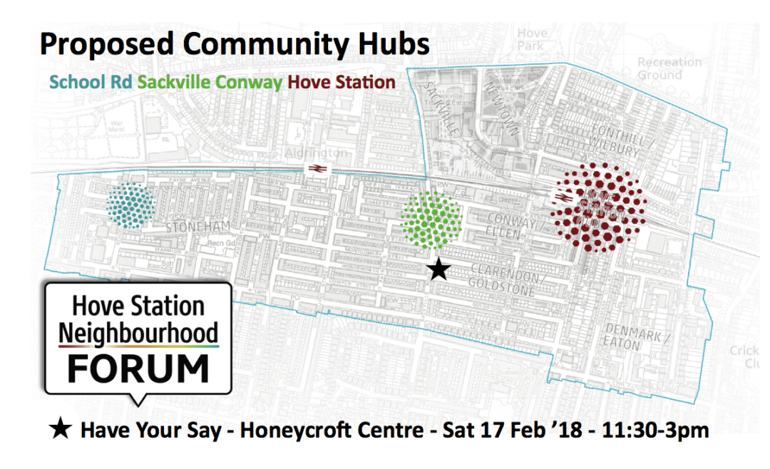 hove community-hubs-map