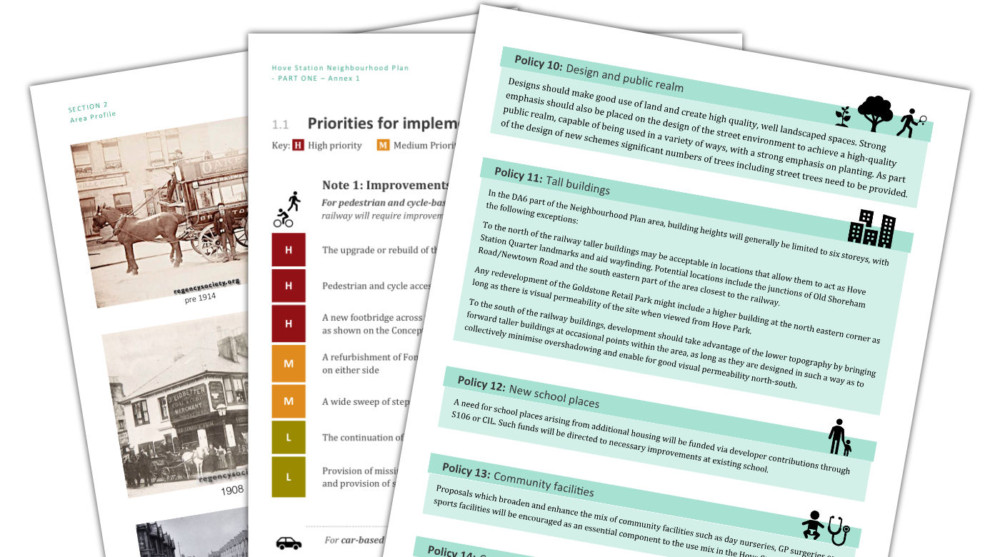 The Plan Pt 1 Policies document sample pages
