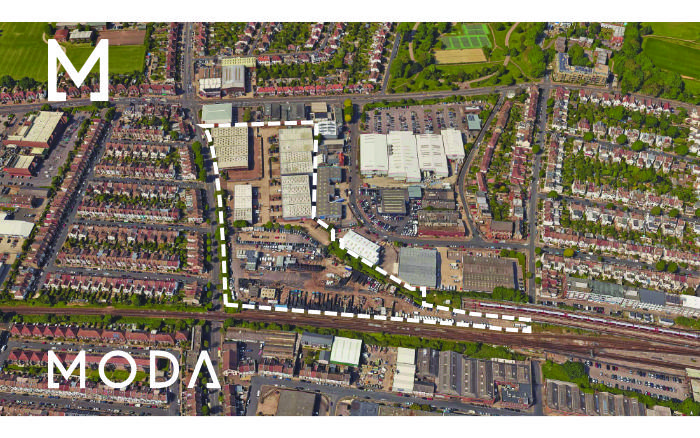 MODA-development-site-sackville-Hove