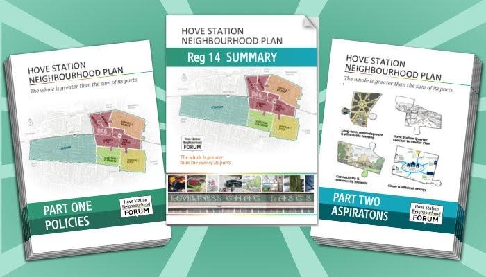 hsnf Neighbourhood Plan regulation 14 consultation covers